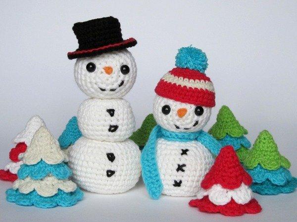 jetzt h keln weihnachtsb ume schneemann. Black Bedroom Furniture Sets. Home Design Ideas
