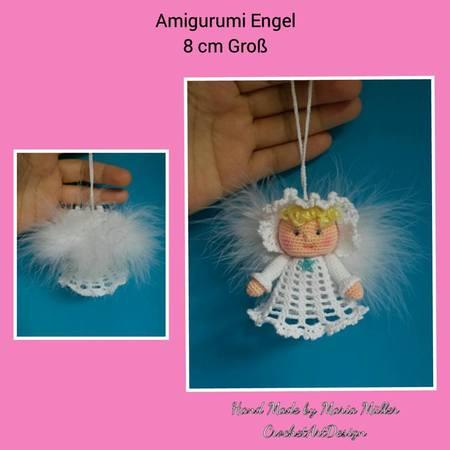 Gratis Häkeln Engel Als Amigurumi Und Deko
