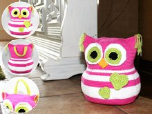 Owl - Doorstop - Stuffed Toy - Crochet Pattern