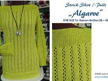 "Strick-Shirt/-Pulli ""ALGARVE"""
