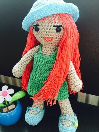 Puppe Emma - kostenlose Häkelanleitung
