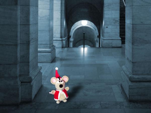Kerstmuis En Muizin Vieren Kerst Haakpatroon Van Dianas Kleiner
