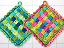 Potholder - Crochet patterns