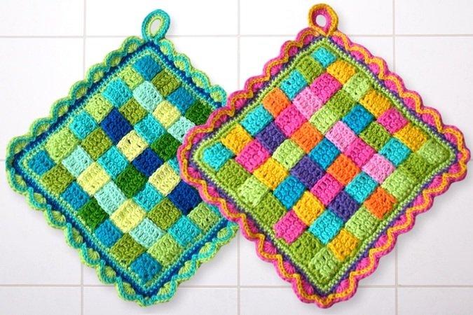 Potholder - Crochet patterns