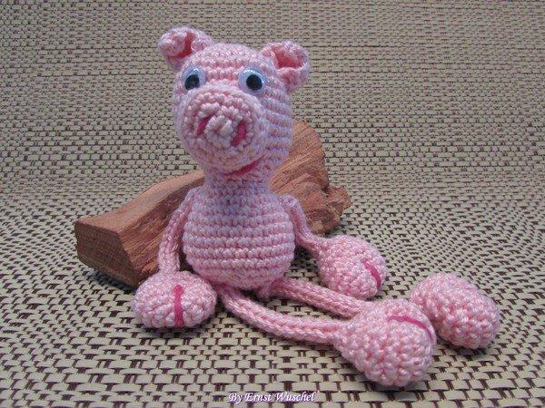 Schwein Häkeln Ferkel Häkeln Schweinchen