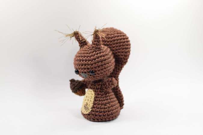 Häkelanleitung Haekelicious Eichhörnchen