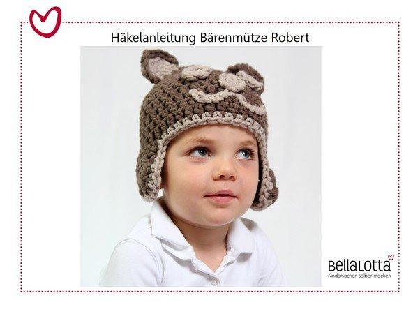 Anleitung Bärenmütze Robert Kleinkind Erwachsener Einfach
