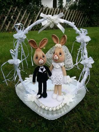 Hase Häkeln Verliebtes Brautpaar Häkeln
