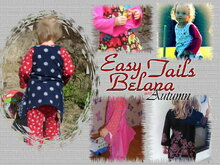 Easy Tails Belana Autumn / Tunika / PDF