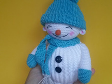 Amigurumi Snowman English Pattern PDF