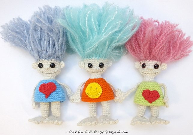 thank you Troll english pdf free pattern tutorial crochet