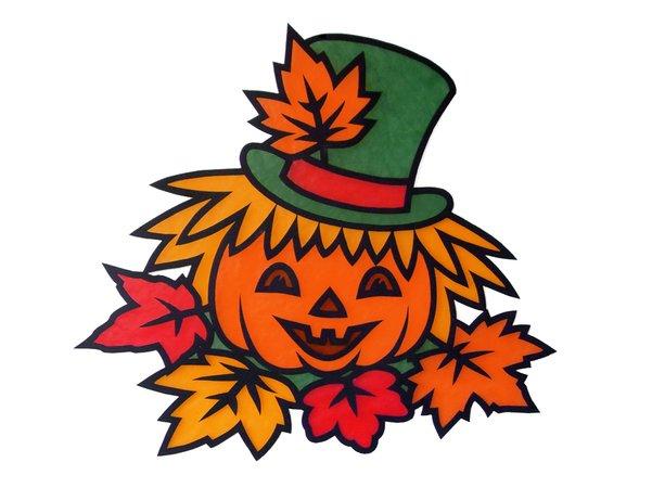 Fensterbild halloween 0 2 bastelvorlagen mit anleitung - Halloween fensterbilder ...