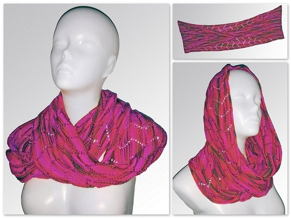 Free Knitting Pattern Moebius Scarf Pippin