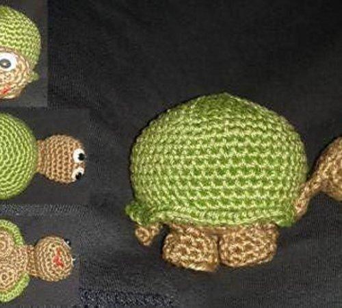gratis Schildkröte häkeln-///-Amigurumi--Deko
