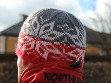 Norwegian Adult Hat Knitting Pattern