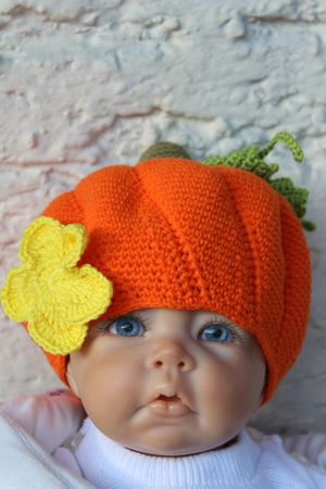 Pumpkin Baby Hat Crochet Pattern