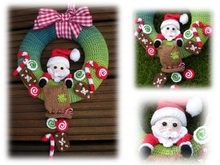 Santa Claus Door wreath