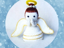 Amigurumi crochet angel pattern