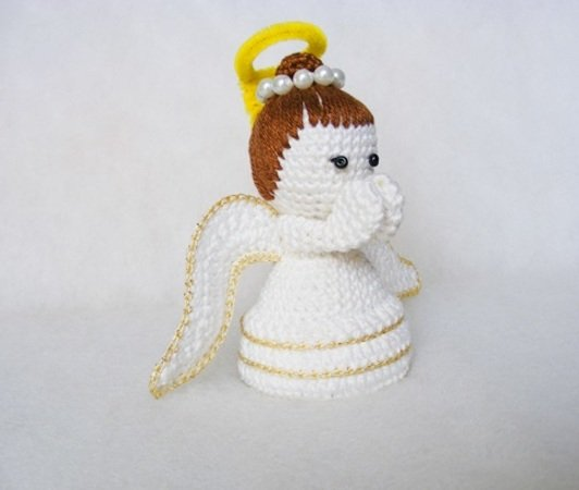 Angelo Amigurumi Tutorial - Angel Crochet - Angelito Crochet ... | 450x532