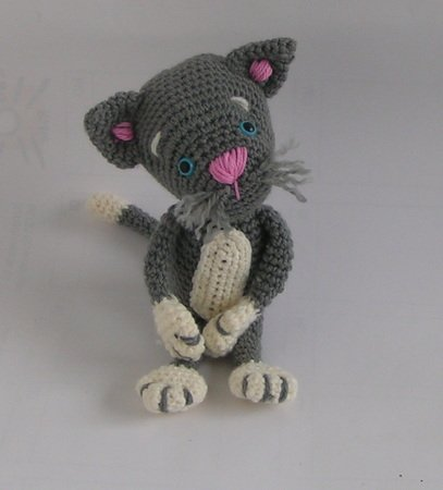 h kelanleitung kuscheltier amigurumi katze kira. Black Bedroom Furniture Sets. Home Design Ideas