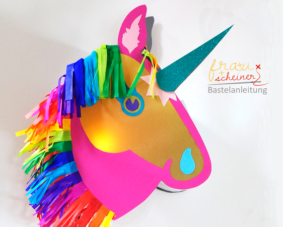 "Laterne Pferd ""Happy Unicorn"""