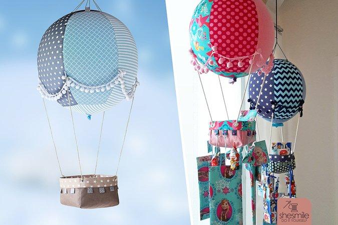 Adventskalender Adventsballon (Nähanleitung und Schnittmuster)