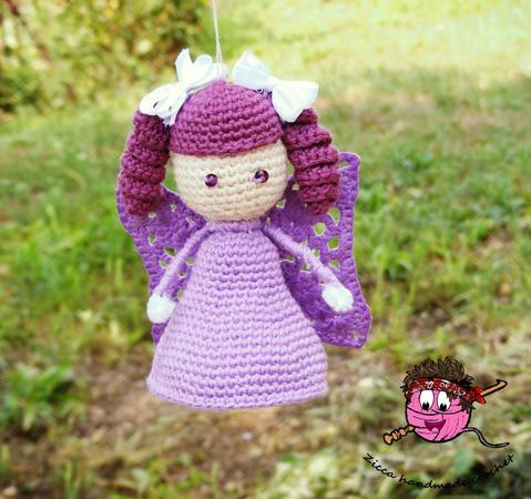 Crochet levander angel pattern