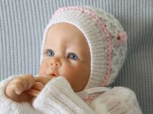 Baby Bonnet Knitting Pattern