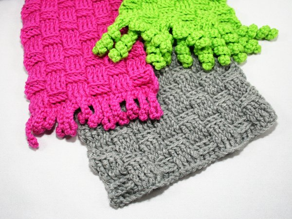 Weave Style Scarf For Young And Old Crochet Pattern