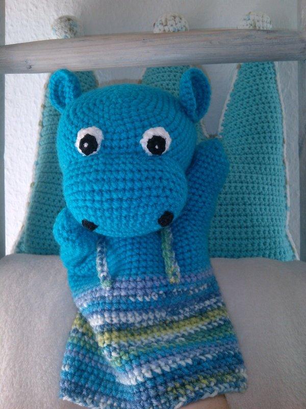 h kelanleitung amigurumi handpuppe hippo. Black Bedroom Furniture Sets. Home Design Ideas