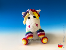 Crochet Pattern Elli the Unicorn