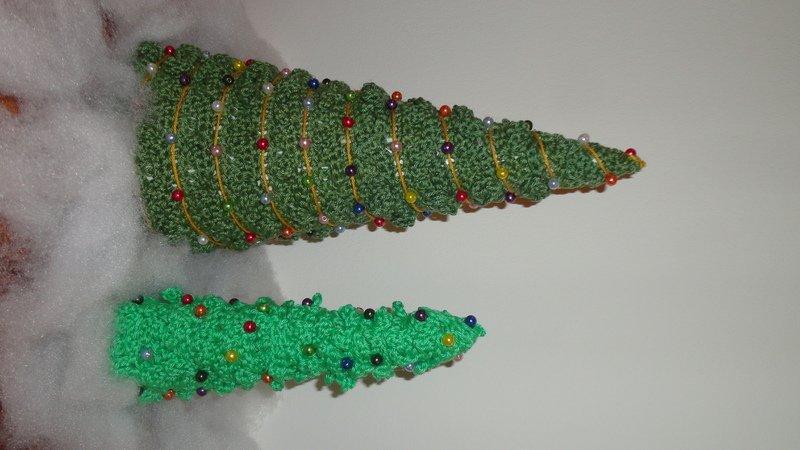 Gratis Tannenbaum Häkeln Weihnachts Deko