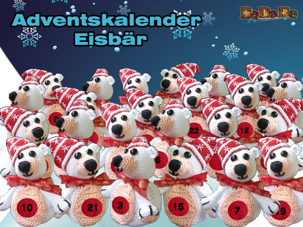 Eisbär Häkeln Super Auch Als Adventskalender