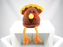 Turkey - Shelf Sitter - Crochet Pattern