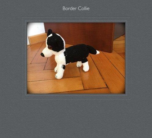 Border Collie häkeln -- Hund häkeln - DIY-PDF