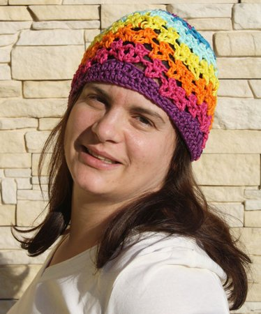 "Beanie ""Colorful"" - Crochet Pattern"
