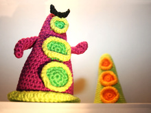 Purple Tentacle & Green Tentacle - Crochet Pattern