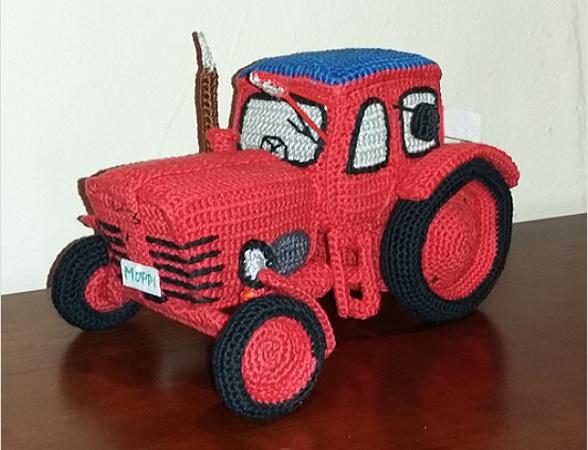 Traktor Häkeln Spielzeug Amigurumi