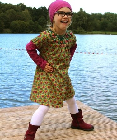 MARIEs dress pattern, sizes 110-152 / 5-12 years