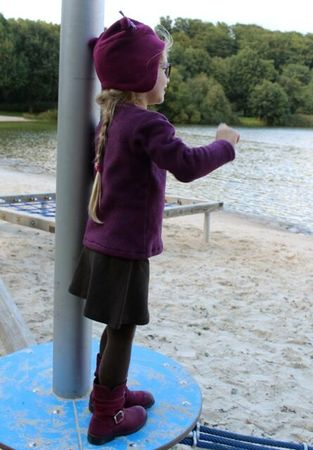 GINAs jersey skirt pattern, sizes 110 – 152 / 5-12 yrs.