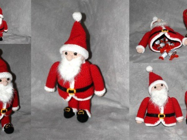 fillable santa claus crochet pattern