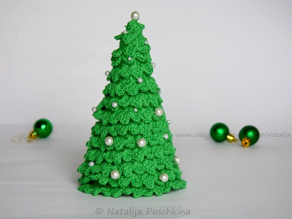 Easy crochet pattern vor christmas tree for Christmas tree items list