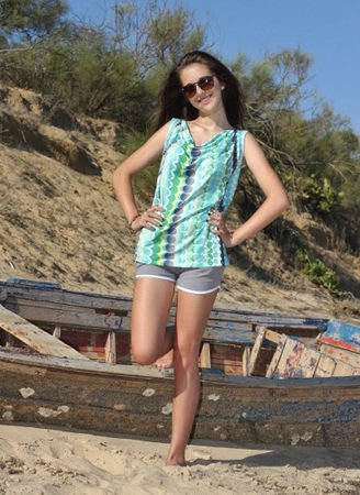 MINAs shorts / hot pants pattern, sizes 158   42 (Kids M   women?s M/L)