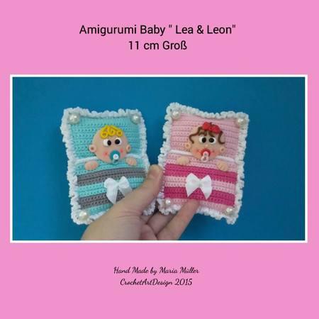 Gratis Amigurumi Häkeln Baby Motiv Häkeln