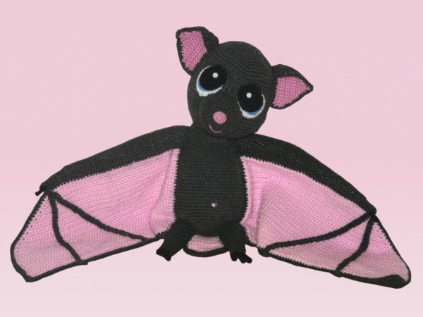 Amigurumi Häkeln Fledermaus Häkeln Deko