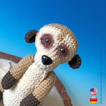 Blue Lemur crochet pattern | Free Amigurumi Patterns | Bloglovin' | 450x450