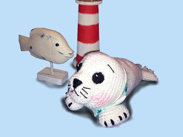 Seehund Häkeln Kleine Robbe Häkeln Leicht