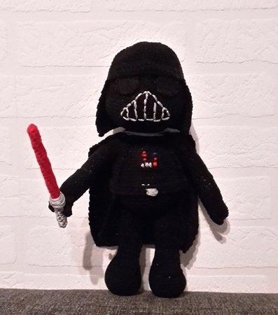 Darth Vader Häkelanleitung