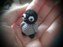 Mini Black Pinguin - Anhänger FreE-Book