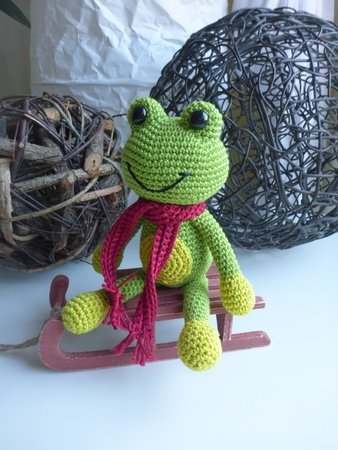 Frosch Häkeln Fröhlich Niedlich Diy Pdf